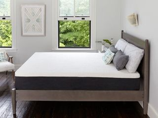 Classic Brands Cool Ventilated Gel Memory Foam 12 Inch Mattress CertiPUR US Certified Bed in a Box  Full  White