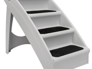 PetSafe Folding Pet Steps Grey   Extra large DAMAGED