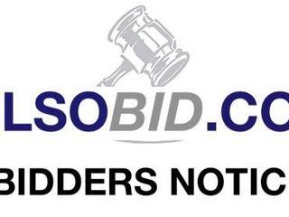 Welcome Bidders Information