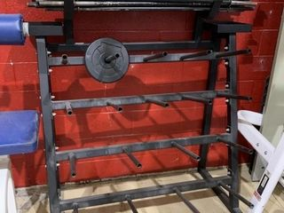 Body Pump Rack with Bars