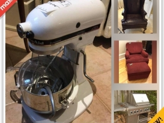 Toronto Moving Online Auction - Rosedale Road