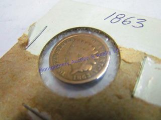 1863 PENNY