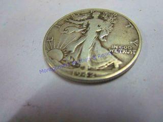 1942 WAlKING lIBERTY 1 2 DOllAR