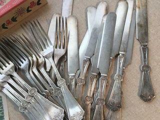 Court silverplate tableware