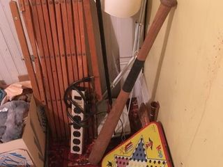 Child gate   baseball bat