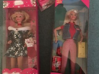Special edition Barbies