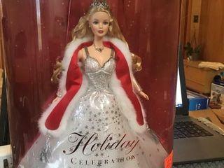 2001 holiday celebration Barbie