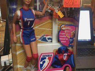 Rebecca lobo WNBA Barbie