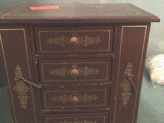 Four drawer music box