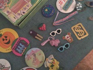 Costume jewelry pins