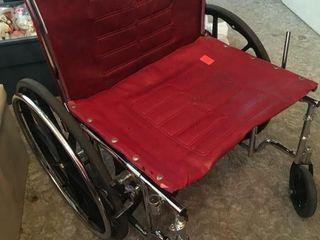 Tracer IV Folding wheelchair
