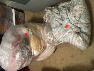 Two big bags comforters