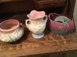 Roseville   Hull Vases