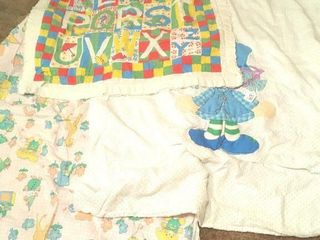 Three baby quilts