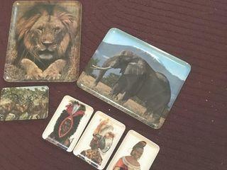 African plastic trays