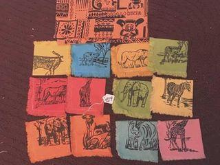 African cloth prints