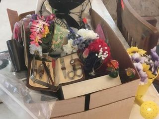 Box and basket of goodies