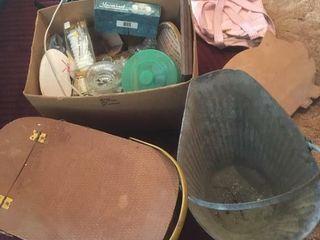 Picnic basket   coal bucket