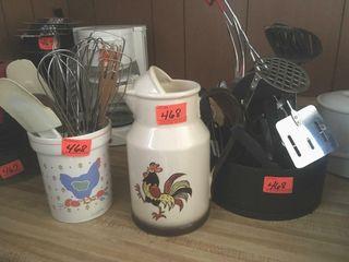 Kitchen utensils caddies