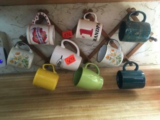 Mug rack   mugs