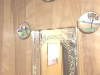 Mirror and plates