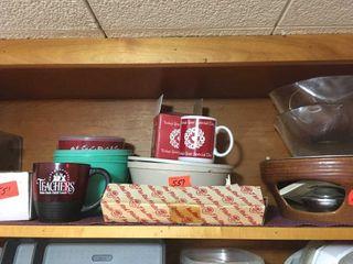 Serving bowls and mugs