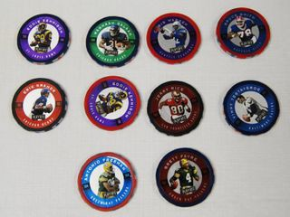 Collectible Play Off Chip Shot   Football NFl