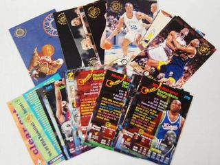 lot of 1994 1995 Stadium Basketball Cards