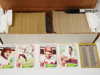 Collection of 1982 Topps Football Cards