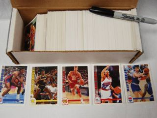 Collection of Basketball Cards  w Box