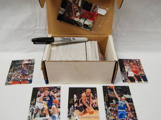 Pretty Cool  Collection of Basketball Cards  w Box  See Photos