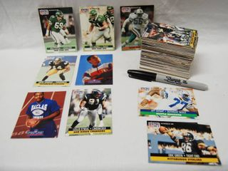 lot of Football Card Collection See Photos