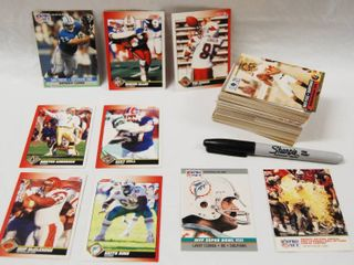 Collection of Football Cards See Photos