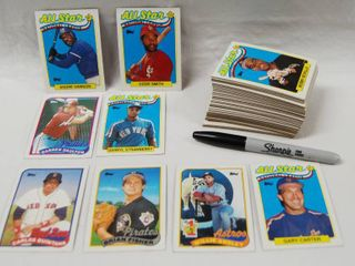 80 s Collection of Baseball Cards See Photos