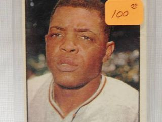 1961 Topps Willie Mays  150 in Hard Plastic Holder   Collector Card of  THE Willie Mays