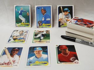 lot of Collectible Baseball Cards  See Photos