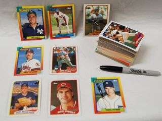 Collection of Baseball Cards See Photos