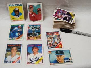 Collection of Baseball Cards    Willie Randolph  All Star  and Tony Fernandez  Blue Jays  and More  See Photos