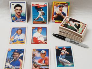 Collection of Baseball Cards  Brewer  Tom Filer   Reds  Jose Rijo  and More  See Photos
