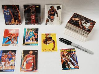 Collection of Basketball Cards   Hornets  Boston  and More   NBA  See Photos