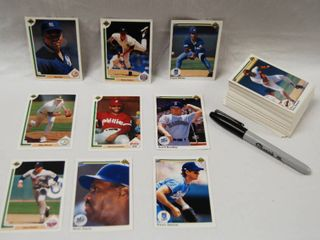 Collection of Baseball Cards  Kansas City Royals  Orioles  and More  See Photos