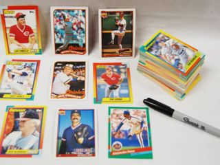 Collection of Baseball Cards  Kansas City Royals  Cubs  and More  See Photos