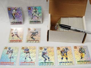GREAT Collection of Football Cards  94 Pacific Prizm  See Photos