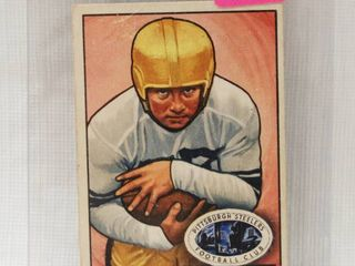 1951 Bowman Regular  Football  Card  24 Francis Rogel of the Pittsburgh Steelers