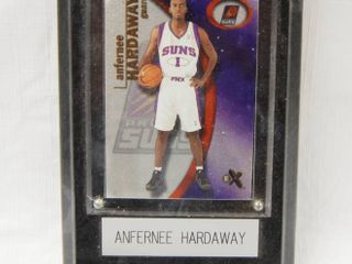 Plaque w  Anfernee Hardaway  1 Phoenix Suns  Basketball Collectible
