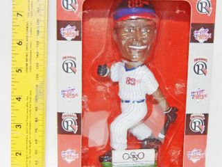 Oklahoma Redhawks Bobble Head   Sammy  Genuine Hand Crafted Hand Painted  In Original Box