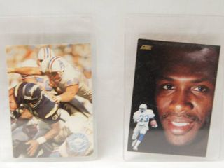 Collectible Football Cards  Ray Childress   1991 Houston Oilers  and  Mel Gray  1991 Detroit lions