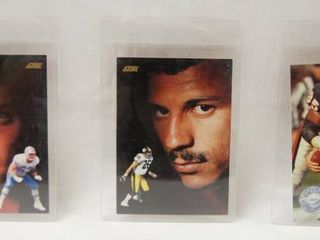 Collectible Football Cars   Mike Munchak  Houston Oilers     Rod Woodson Pittsburgh Steelers     Richard Dent  Chicago Bears  All 1991 Cards