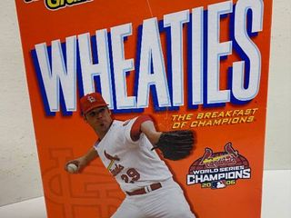 Box of Wheaties   ST lOUIS CARDINAlS   2006 WORlD CHAMPIONS