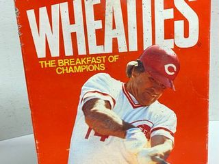 Box of Wheaties   PETE ROSE   Cincinnati Reds   VERY COllECTIBlE